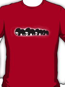 elephants t-shirt T-Shirt