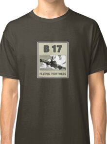 B17 in the skys over Europe Classic T-Shirt