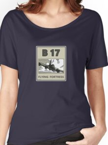 B17 in the skys over Europe Women's Relaxed Fit T-Shirt