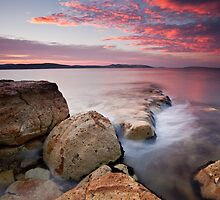 Bellerive Bluff Sunrise #7 by Chris Cobern