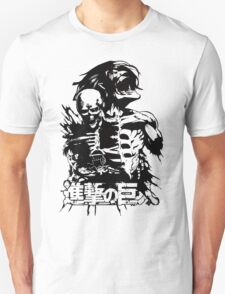 Attack on Titan tshirt Shingeki no Kyojin Unisex T-Shirt