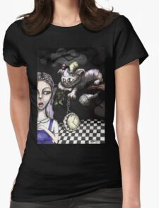 If you knew the time (Alice collaboration) Womens Fitted T-Shirt