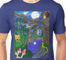 Night Time Jungle Scene Unisex T-Shirt