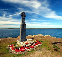 Falklands War - Welsh Guards Memorial by John Dalkin
