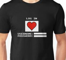 Unlock Heart Unisex T-Shirt