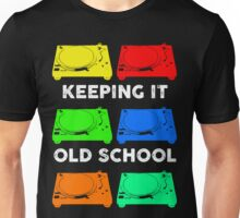 OLD SCHOOL TECHNICS Unisex T-Shirt