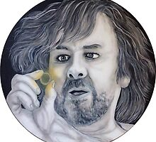 Peter Jackson Lord of the Rings and The Hobbit by Kiwiana Art Mandii Pope