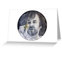 Peter Jackson Lord of the Rings and The Hobbit Greeting Card