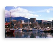 Victoria Dock, Hobart, Spring 2010—Kodachrome 64 Canvas Print