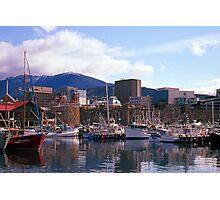 Victoria Dock, Hobart, Spring 2010—Kodachrome 64 Photographic Print