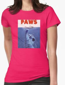 PAWS Womens Fitted T-Shirt