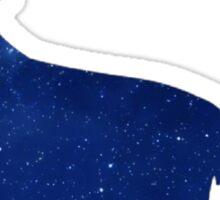 Galaxy Wolf Sticker