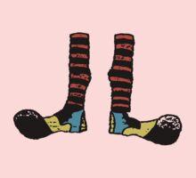 Cool Cute Funny Clown Feet One Piece - Long Sleeve