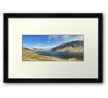 A Wastwater Panorama Framed Print