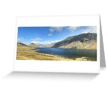 A Wastwater Panorama Greeting Card