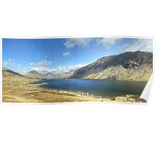 A Wastwater Panorama Poster