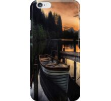 Golden Sunset over Loch Ard iPhone Case/Skin