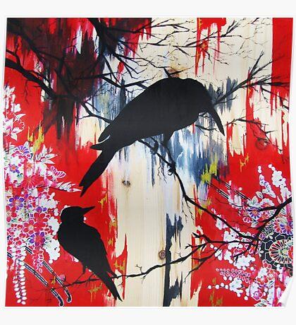 black birds 1 Poster