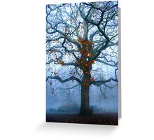 London Plane Tree in Auturm  Greeting Card