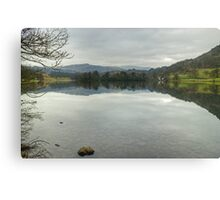 Rydal Water In March Canvas Print