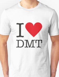 I love DMT Unisex T-Shirt