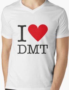 I love DMT Mens V-Neck T-Shirt