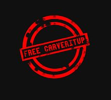 """Free CARVERitUP"" RED Stamp T-Shirt"
