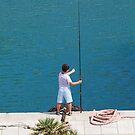 The Fisherboy, San Stefano, 2010 by ArleneMartine