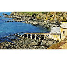 """""""  The first Lizard lifeboat station"""" Photographic Print"""
