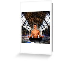 Meditation  Greeting Card