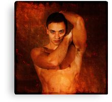 Cast in Copper Canvas Print