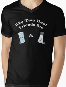 My Two Best Friends: Salt and Water Mens V-Neck T-Shirt