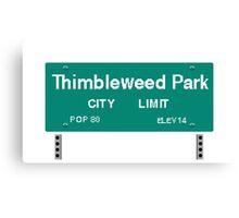 Thimbleweed Park Canvas Print