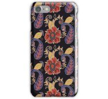 Floral in Original Color way iPhone Case/Skin