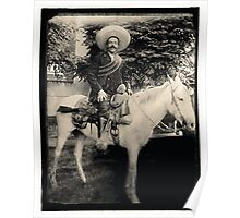 "1908 Photo of Francisco ""Pancho"" Villa on Horseback Poster"