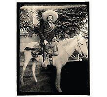 "1908 Photo of Francisco ""Pancho"" Villa on Horseback Photographic Print"