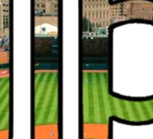 Detroit Tigers Stadium Logo Sticker