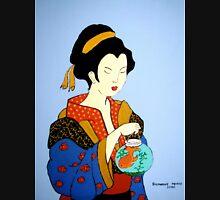 Geisha with Fish T-Shirt