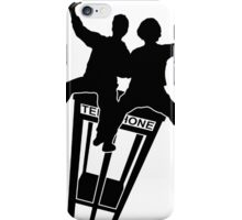 Bill And Ted (Black) iPhone Case/Skin
