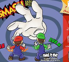 Super Smash Bros Mario and Luigi by LuisIPT