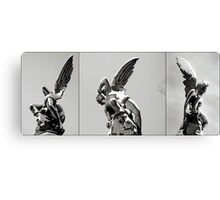 angel sculpture Canvas Print