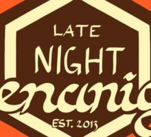 Late Night Shenanigans Sticker