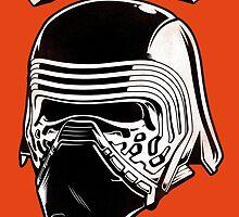 Kylo Ren - Japanese Star Wars logo by victorfelix