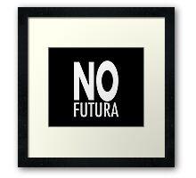 No futura Framed Print