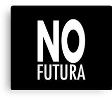No futura Canvas Print