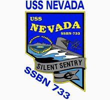 USS Nevada (SSBN-733) Crest Unisex T-Shirt