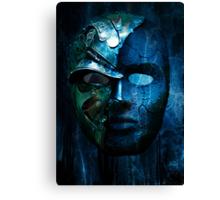 Steampunk half mask Canvas Print