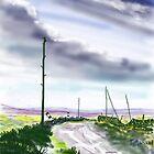 Moorland Road - iPad by Glenn Marshall