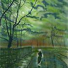 Girl by Moonlight by Glenn Marshall