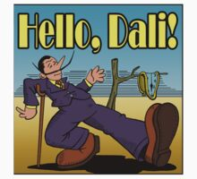 Hello, Dali! by chrisagee